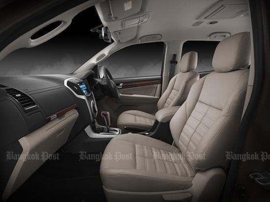 Isuzu ra mắt phiên bản nâng cấp SUV 7 chỗ mu-X Isuzu ra mắt phiên bản nâng cấp SUV 7 chỗ mu-X