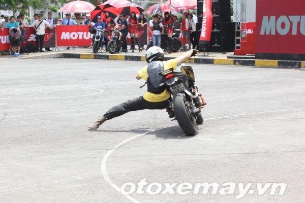 Chùm ảnh ngày thi đấu đầu tiên của Motul Stunt Fest 2015: