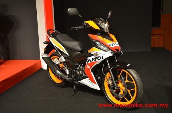 Honda Winner 150 bổ sung thêm bản Repsol