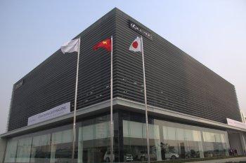 Tham quan showroom Lexus Hà Nội qua ảnh