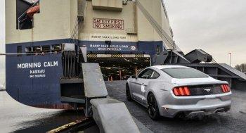 Ford Mustang đời mới lên đường đến châu Á-TBD