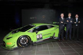 Lamborghini Huracán GT3 sẽ tham gia giải đua Blancpain Endurance Series