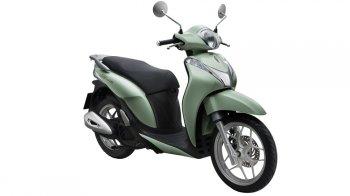 Honda SH mode cải tiến nhẹ, giữ nguyên giá