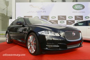 JaguarXJL V8 siêu sang cho dân sành Hà Nội