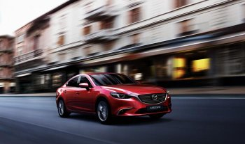 Mazda trang bị hệ thống dẫn động mới trên bản nâng cấp Mazda6