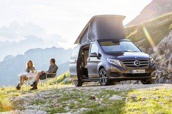 Xe nhà di động chính hãng của Mercedes-Benz