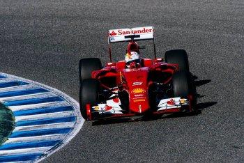 Vettel nhanh nhất trong ngày chạy thử tại Tây Ban Nha