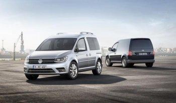 Volkswagen Caddy 2015 ra mắt với giá khởi điểm gần 17.000 USD