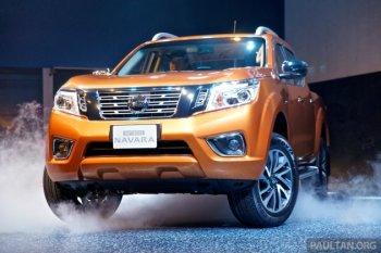 Nissan Navara thế hệ mới chuẩn bị ra mắt tại Việt Nam