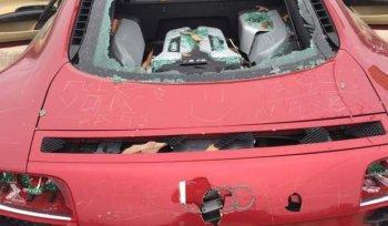 Audi R8 tiền tỷ tan tành - chi phí cho một cuộc ngoại tình