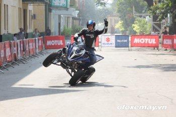 Motul stunt Fest hấp dẫn với màn trình diễn của xe 4 bánh
