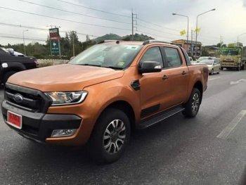 Ford Ranger Wildtrack 2015 bất ngờ dạo phố