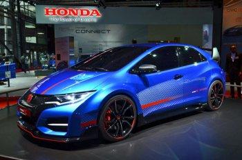 Honda tiết lộ hình ảnh Civic Type R