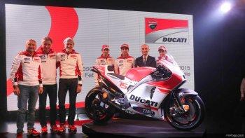Ducati đặt nhiều kỳ vọng vào Desmosedici GP15