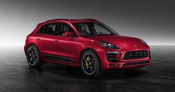 Porsche Macan Turbo khác lạ với màu sơn đỏ Metallic Red