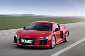 R8 2016 mang thiết kế mới của Audi