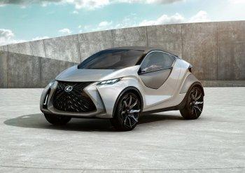 Lexus LF-SA – những kết hợp mâu thuẫn của Lexus