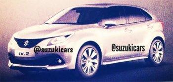 Suzuki khoe xe mới trên Instargram
