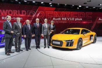 Siêu xe R8 2016, điểm nhấn của Audi tại Geneva Motor Show 2015