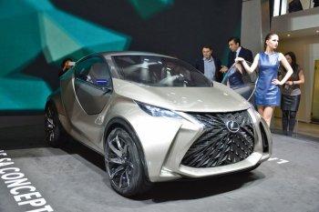 LF-SA Concept xe mini đầu tiên của Lexus