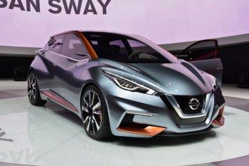 Nissan Sway Concept gợi cảm và tiện nghi