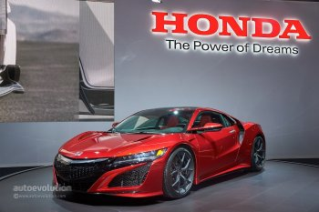 """Siêu xe Honda NSX chính thức sản xuất với """"gói"""" Hybrid"""