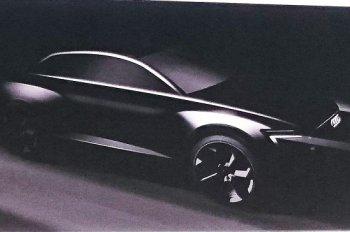 Hé lộ hình ảnh đầu tiên về SUV lớn chạy điện Audi Q6