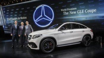 Mercedes-Benz GLE Coupe giá từ hơn 60.000 USD