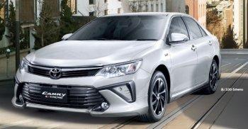 Toyota Camry 2015 trang bị động cơ mới tại Thái Lan