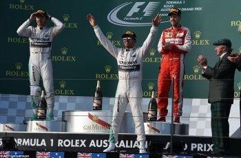 Hamilton tỏ rõ sức mạnh của nhà đương kim vô địch