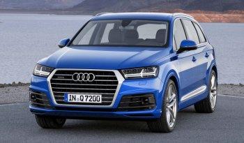 SUV hạng sang Audi Q7 2015 chốt giá bán
