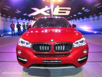 Chi tiết BMW X6 2015 ra mắt tại Việt Nam