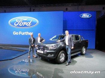 Những chi tiết nổi bật trên chiếc Ford Ranger mới