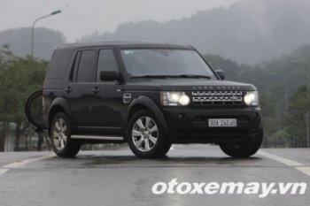 Land Rover Discovery 4: Một bầu máu nóng