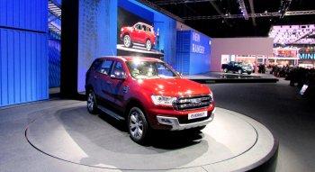 Ford Everest 2015 lột xác từ trong ra ngoài