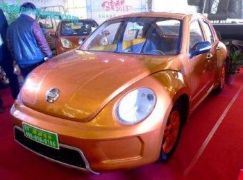 Trung Quốc trắng trợn nhái xe Volkswagen Beetle