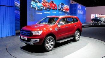 Từng chi tiết trang bị Ford Everest mới bằng đồ họa