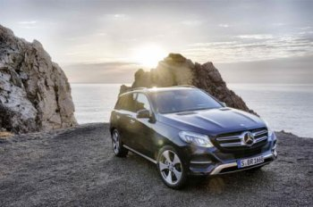 Mercedes-Benz GLE 2016: Tự tin vượt mặt M-Class