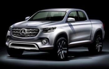 Mercedes-Benz sẽ tấn công thị trường xe bán tải