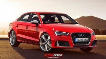 Audi RS3 Sedan sắp ra mắt tại thị trường Mỹ