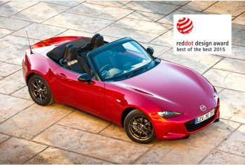 """Mazda lập cú """"hat trick"""" với ba giải thưởng thiết kế"""