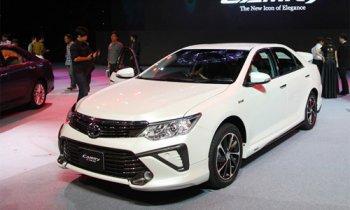 Toyota Camry 2015 bắt đầu bán ở Việt Nam