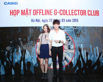 CASIO G-Collector Club hội tụ các gương mặt cá tính tại Hà Nội.
