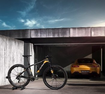 Xe đạp lấy cảm hứng từ chiếc siêu xe AMG GT