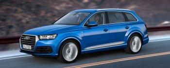 Audi QS7 V8 turbo điện sẽ thay thế Q7 từ năm 2016