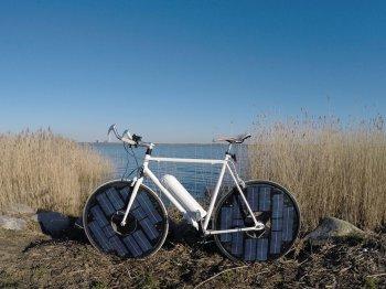 Độc đáo với chiếc xe đạp điện… không cần sạc