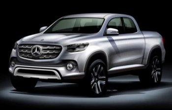 Mercedes bắt tay Nissan sản xuất xe pickup 1-tấn