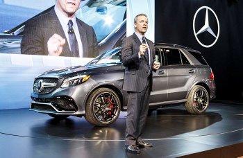 Mercedes-Benz GLE có giá bán từ 58.540 USD