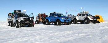 Bí ẩn trò Off-road trên băng