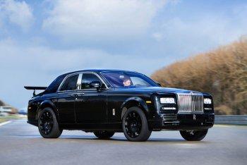 Rolls-Royce đang thử nghiệm mẫu xe hoàn toàn mới
